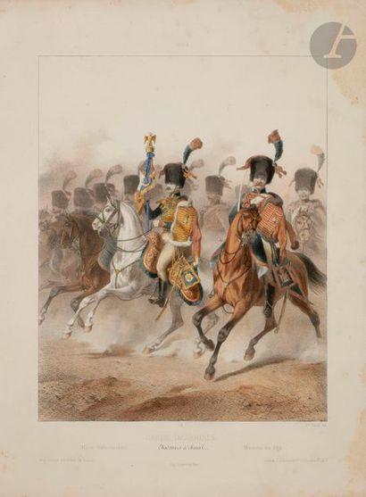 Alfred de MARBOT, d'après Uniformes de la Garde impériale (Ier Empire): État-major...