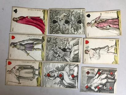 Cartes Almanach « chevaliers » : J.G. Cotta,...