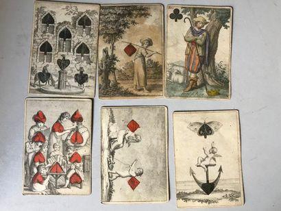 Cartes Almanach « Jeanne d'Arc », J.G. Cotta,...