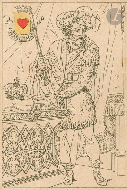Jeu du Colonel Athalin, 1815 ; 47/52 cartes...