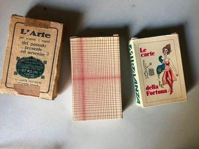 Trois jeux de cartomancie italiens : L'arte...