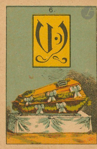 Madame (sic) Lenormands weltberuehmte Wahrsage-Karten,...