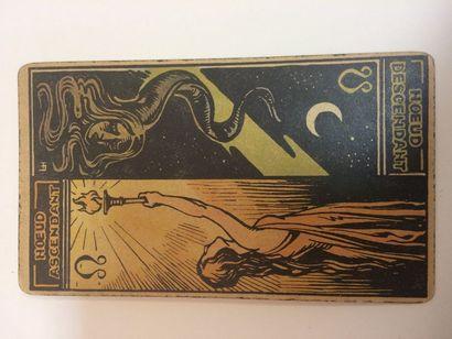 Tarot astrologique de Georges Muchery, 1927...