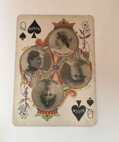 The Stage Playing Cards No 65x : U.S.P.C.,...