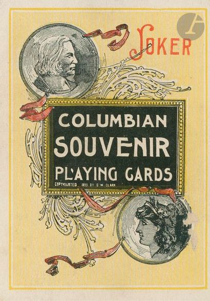 Columbian Souvenir Playing Cards : Chicago,...