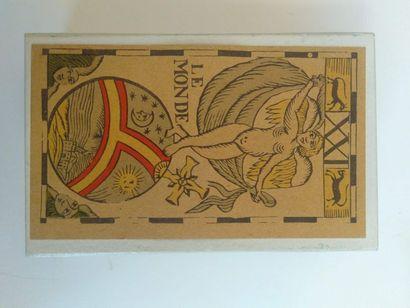 Fac-similés de tarots anciens : Wiener Veduten...