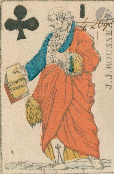 Cartes révolutionnaires au portrait SVB...