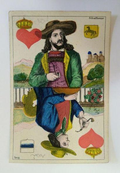 Cantons suisses : C.L. Wüst, Francfort, c.1870 ; 32/32 cartes ; grav. cuivre et...