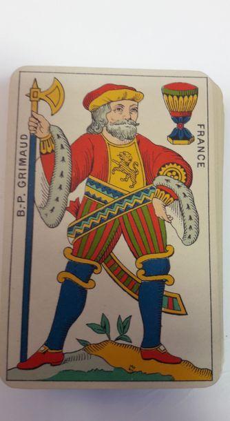 Aluette : B.P. Grimaud, moderne (timbre...