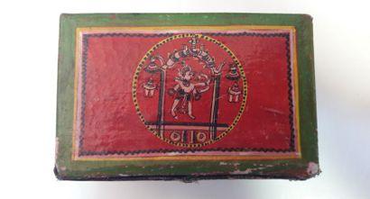 Ramayana Ganjappa, c.1960 ; boîte métal...