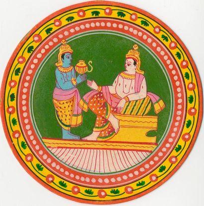 Mogul Ganjifa,type Sawantwadi : Darchitri,...