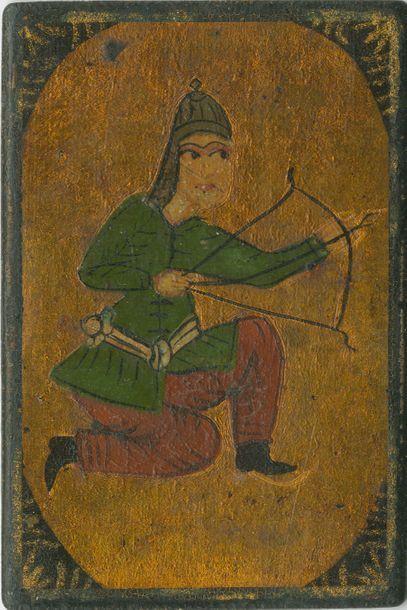 Cartes persanes « as-nas » : Iran, fin XIXe...