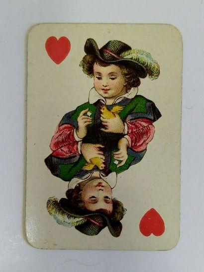 Deux jeux de patience : Patience des enfants No 25, Dondorf, c.1890 ; 52/52 cartes...