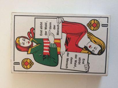 Spielkarte Umwelt : jeu d'artiste, création...