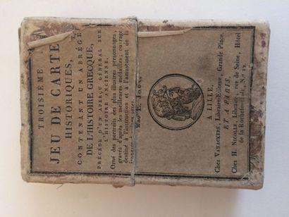 Jeu « Histoire grecque » : Vanackere, Lille,...