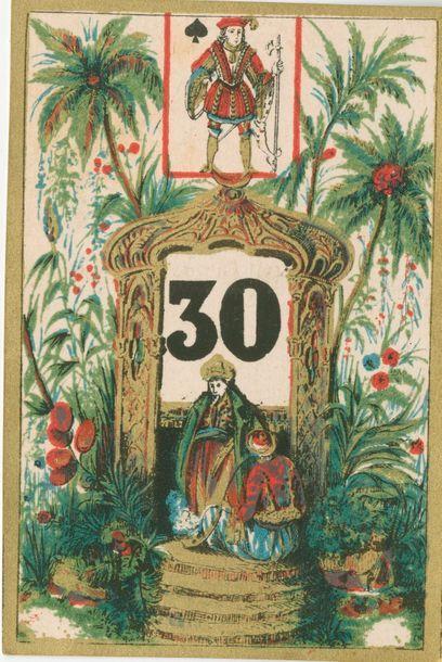 Jeu de cartes arithmétique : Pierre Bobœuf,...