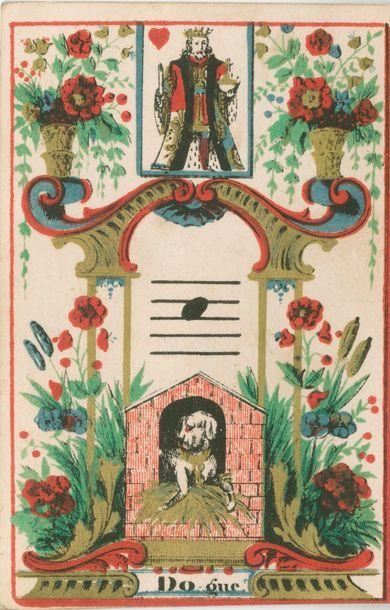 Jeu de cartes musical : Pierre Bobœuf, Paris,...