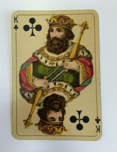 Club Karte, B. Dondorf, c.1900 ; 36/36 cartes...
