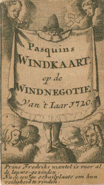 Pasquins Windkaart op de Windnegotie Van...
