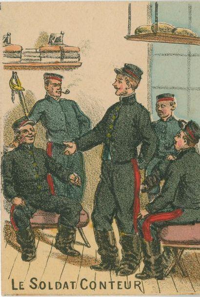 Les Gaités de l'Escadron, Mauclair-Dacier,...