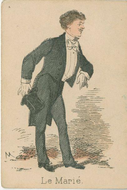Jeu de la Mariée : Watilliaux, fin XIXe...