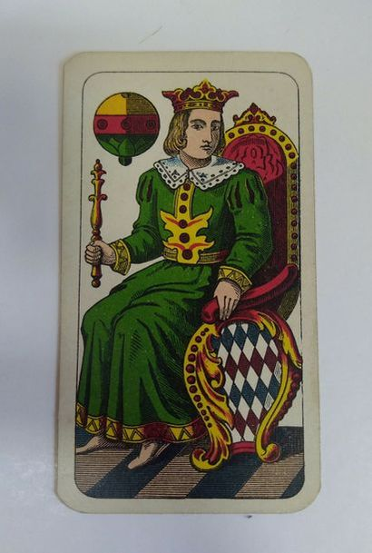 Portrait de Bavière : F.X. Schmid, Munich, c.1900 ; chromolithographie ; 36/36 cartes...
