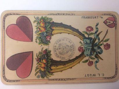 Portrait prussien de fantaisie : Vereinigte Strasulnder Spielkarten A.G., Stralsund,...