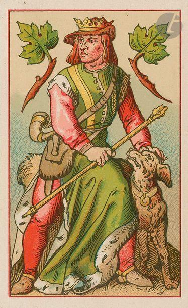 Deutsches Spiel-Karte, jeu de fantaisie all. : T.O. Weigel, Leipzig, c.1880 ; dessins...