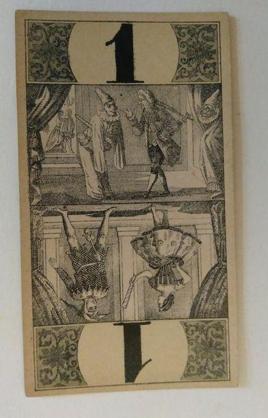 Tarot « bourgeois » : Wüst, 54/54 cartes...