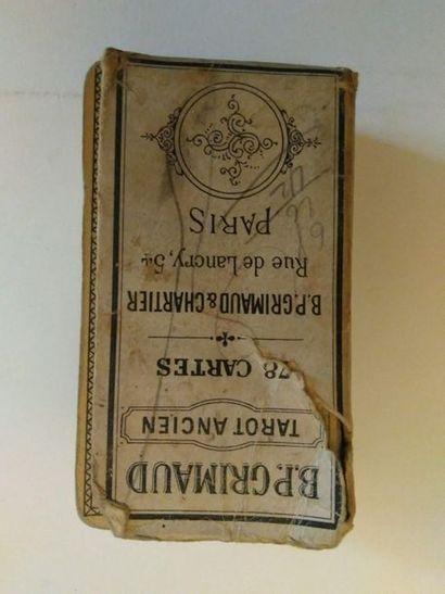 Tarot «ancien» (tarot chinois) : B.P.Grimaud,...