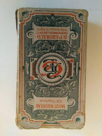 Tarot Nouveau : B.P. Grimaud Chartier, Marteau...