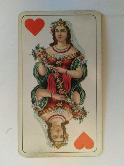 Tarot « Industrie u. Glück », type A : F....
