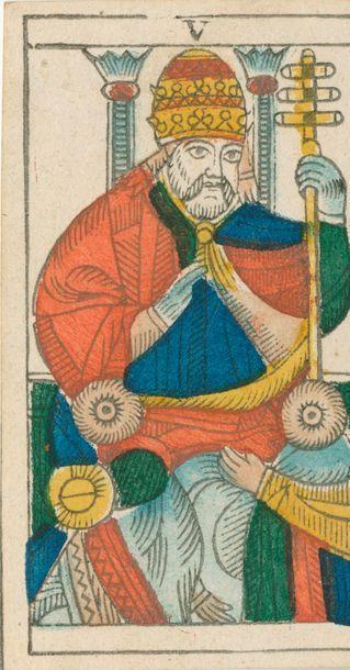 Tarot de Marseille : Alphonse Favre, Fribourg,...