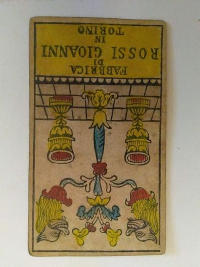 Tarot piémontais : Giovanni Rossi, Turin,...