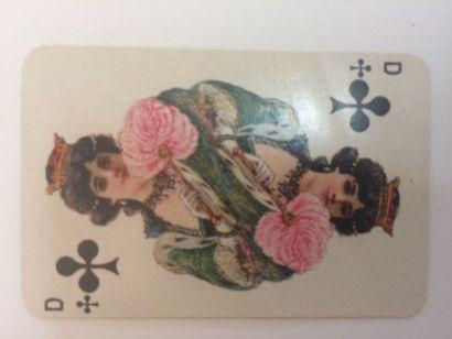 Jeu de patience No 204 : C.L. Wüst, Francfort, c.1910 ; chromolithographie ; 52/52...