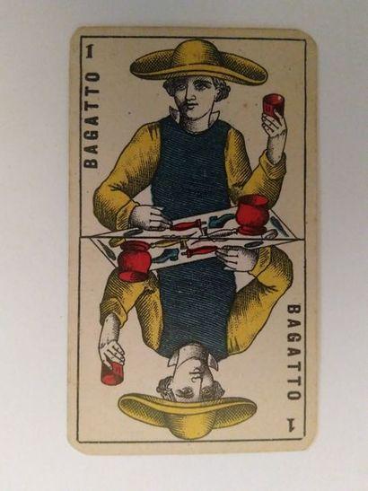 Tarot lombard : Edoardo Dotti, Milan, c.1870...