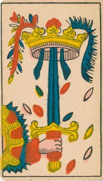 Tarot piémontais (2 têtes) : B.P. Grimaud,...
