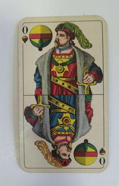 Jeu au portrait de Berlin : F.X. Schmid, Munich, vers 1935/40 ; 52 cartes + 3 ;...