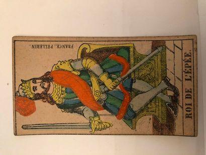 Tarot d'Epinal : Pellerin, Epinal, c.1865...