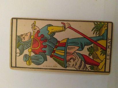 Tarot type Besançon : B.P. Grimaud, Paris,...