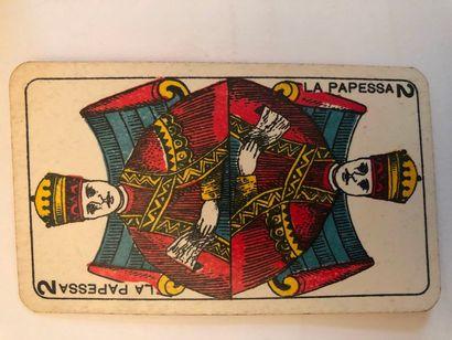 Tarot piémontais : Faustino Solesio, Gênes,...