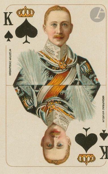 Reichs-Spielkarte Jeu all. de la Première...