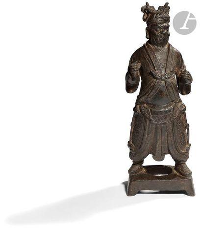 CHINE - Époque MING (1368 - 1644) Statuette...