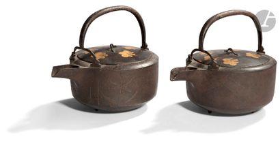 JAPON - Époque MEIJI (1868 - 1912) Deux théières...