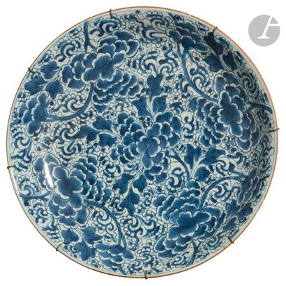 CHINE - Époque KANGXI (1662 - 1722) Grande...