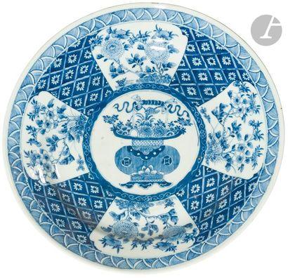 CHINE - Époque KANGXI (1662 - 1722) Paire...