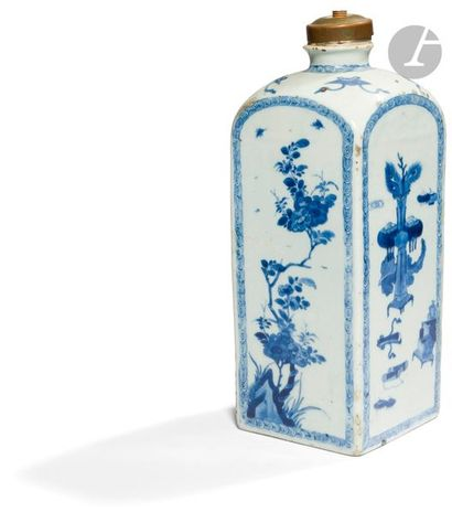 CHINE - Époque QIANLONG (1736 - 1795) Bouteille...