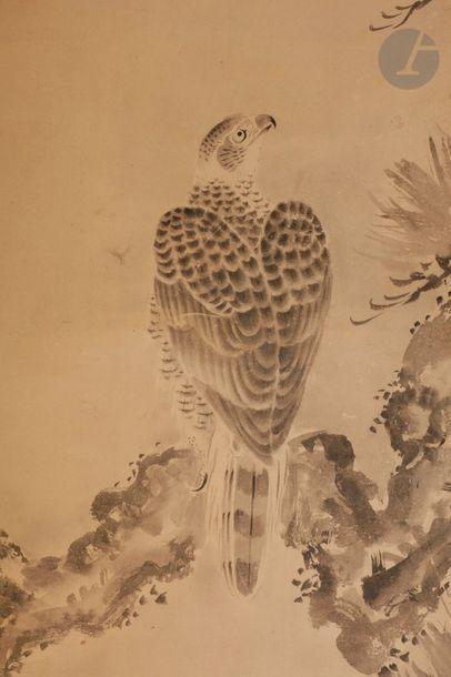 JAPON - Époque MEIJI (1868 - 1912) Encre...