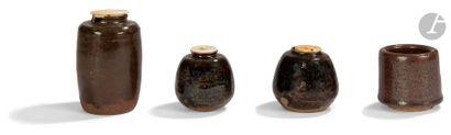 JAPON - Époque EDO (1603 - 1868) Ensemble...