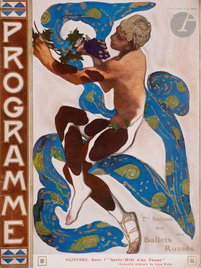 Quatre programmes des Ballets Russes 1) Septième...